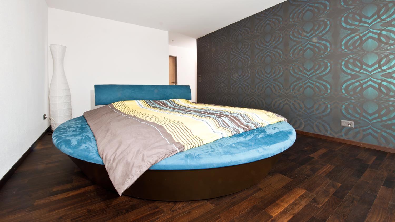 rundes bett koch f rs leben. Black Bedroom Furniture Sets. Home Design Ideas