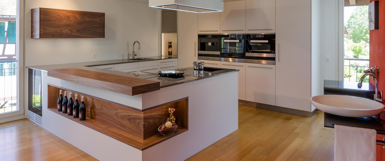 küche modernes design aktuelle materialien neuste geräte