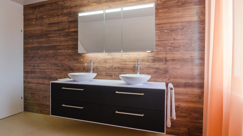 rustikal trifft auf modernes badezimmer koch f rs leben. Black Bedroom Furniture Sets. Home Design Ideas